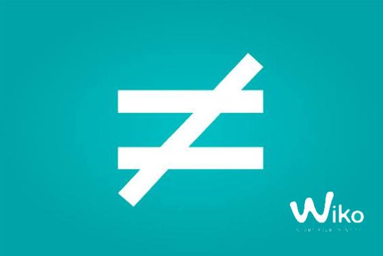 wiko-sinal-igual
