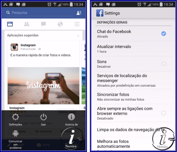 Facebook-Android-Settings