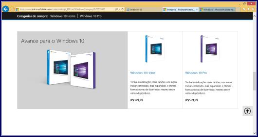 Preços da loja online Microsoft Brasil em Reais (R$)