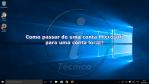Windows 10: Passar de uma conta Microsoft para uma conta local