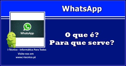 WhatsApp-o-que-e