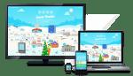Visite a aldeia do Pai Natal e aprenda programação