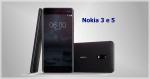 Nokia 3, 5 e 6 serão apresentados na MWC 2017