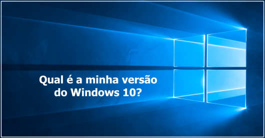 Identificar versão do Windows 10