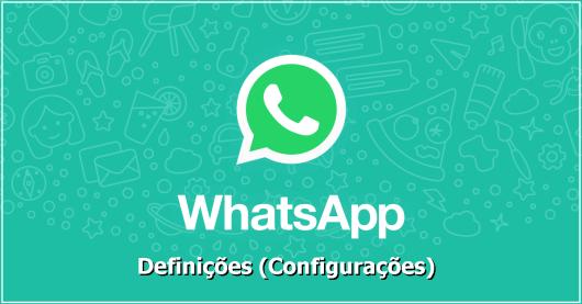 WhatsApp Definições