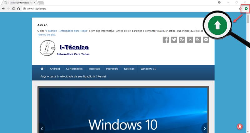 Actualizar Chrome - Passo 1