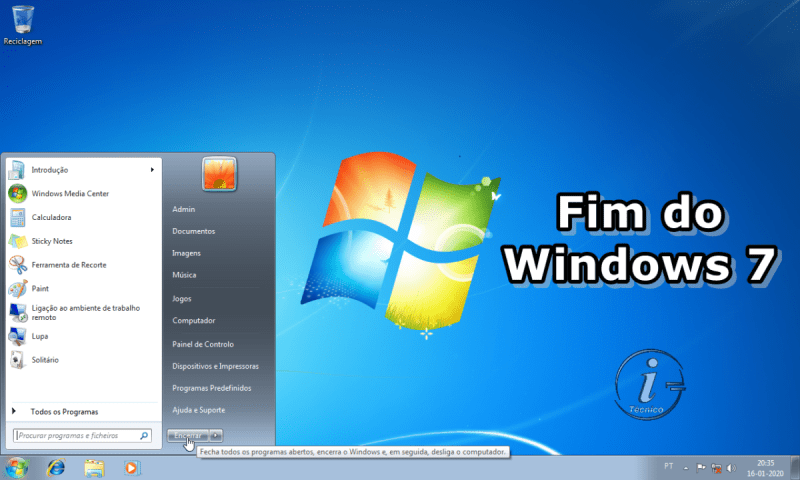 Fim do Windows 7