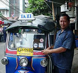 Tuk Tuk à Phuket