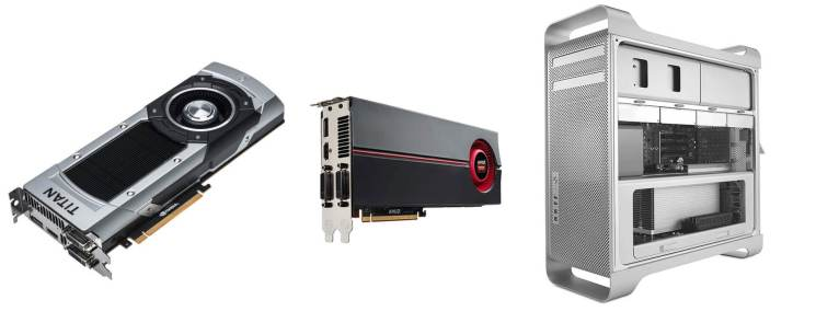 How to Install a GTX Titan Black and ATI Radeon 5870 in one Mac Pro