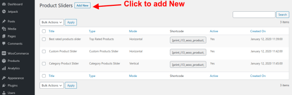 woocommerce-product-slider-click-mange-slider