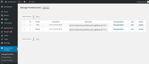 wordpress-responsive-filterable-portfolio-manage-portfolio