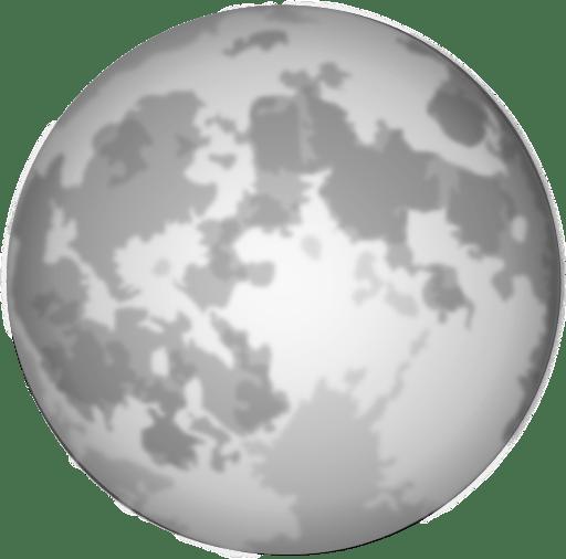 Halloween Bright Full Moon Clipart | i2Clipart - Royalty ... (512 x 506 Pixel)