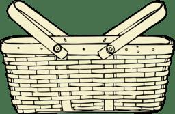Picnic Basket Clipart   i2Clipart - Royalty Free Public ... (256 x 167 Pixel)