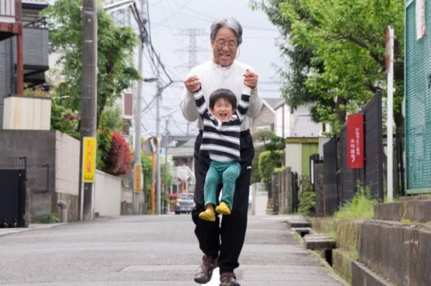孫とおじいちゃん