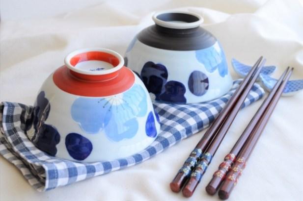 夫婦箸と茶碗