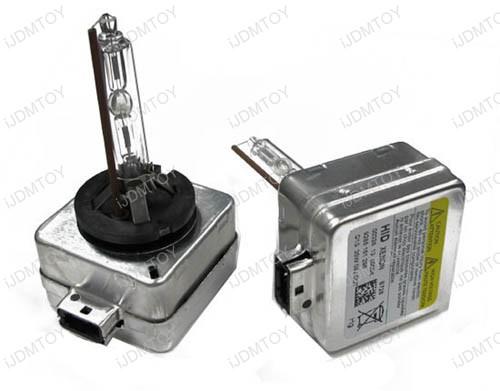JDM 6000K 8000K 10000K 12000K Optimal D1S or D1R HID Xenon Upgrade Bulbs
