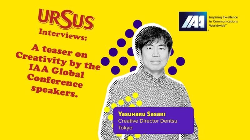 Yasuharu Sasaki, Head of Digital Creative and Executive Creative Director, Dentsu Tokyo