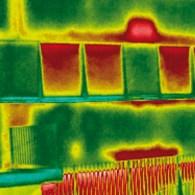 Durch Thermografie werden energetische Schwachstellen lokalisiert