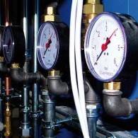 Drucküberwachung von Lufterdwärmetauschern