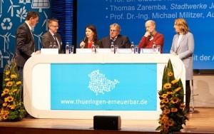 Bild Podium 7. Erneuerbare Enerhgien- und Klimakonferenz