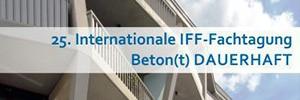 Banner 25. Internationale IFF-Fachtagung