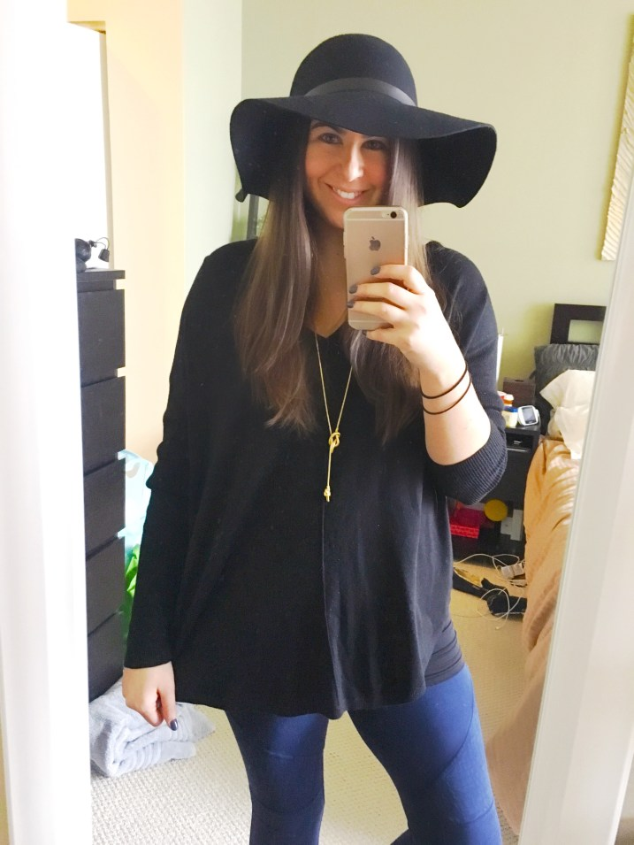 I Adore What I Love Blog // Weekly Wins #3 // Black Floppy Hat 1// www.iadorewhatilove.com #iadorewhatilove