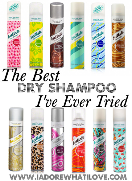 I Adore What I Love Blog // The Best Dry Shampoo That I've Ever Tried // Title Pic // www.iadorewhatilove.com #iadorewhatilove