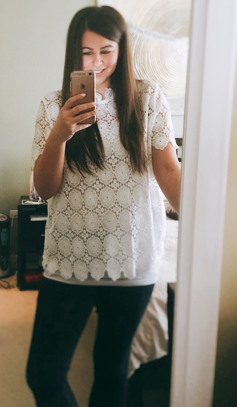 I Adore What I Love Blog // Weekly Wins #8 // Lace Top // www.iadorewhatilove.com #iadorewhatilove