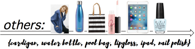 I Adore What I Love Blog // SPRING BREAK ESSENTIALS // others // www.iadorewhatilove.com #iadorewhatilove