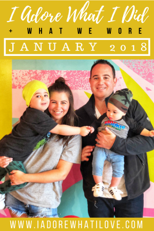 I Adore What I Did January 2018 // I Adore What I Love Blog // www.iadorewhatilove.com #iadorewhatilove