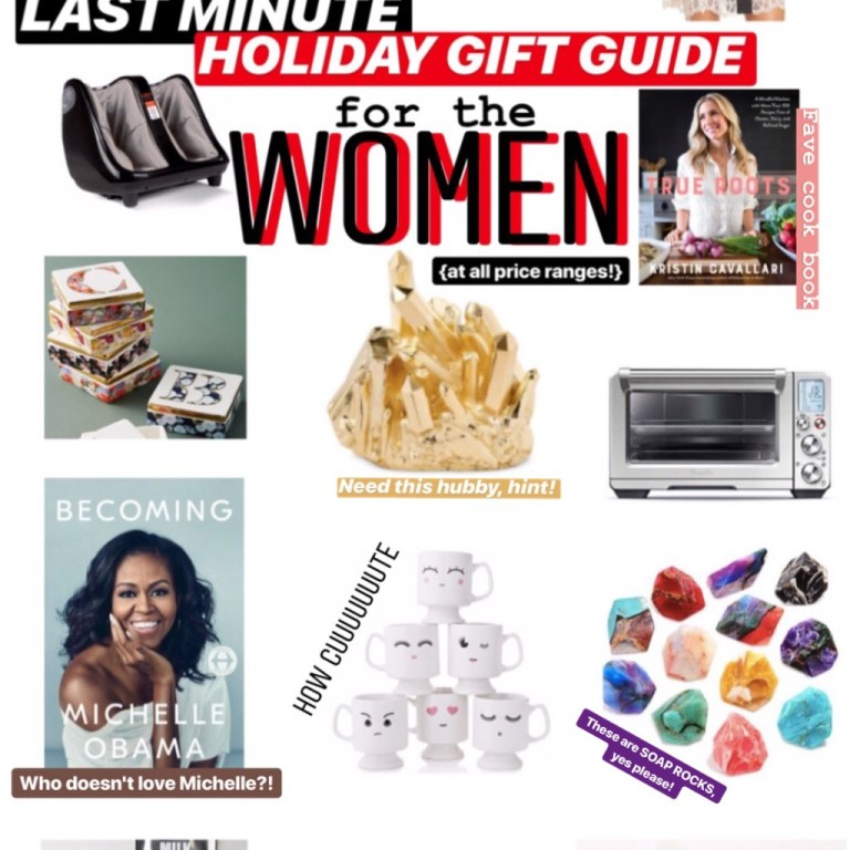 Last Minute Holiday Gift Guide for Women At All Price Points! :: I Adore What I Love Blog :: www.iadorewhatilove.com #iadorewhatilove