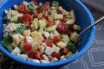 CAPRESE SALAD WITH THE MOST DELICIOUS TWIST :: I Adore What I Love Blog :: www.iadorewhatilove.com #iadorewhatilove