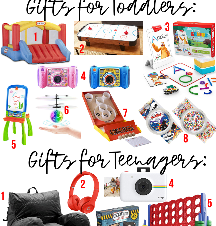 THE CUTEST HOLIDAY GIFTS FOR TODDLERS & TEENAGERS! :: I Adore What I Love Blog :: www.iadorewhatilove.com #iadorewhatilove