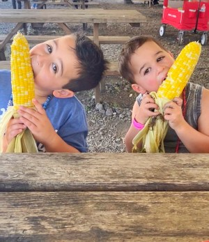 Sharing the MOST delicious corn on the cob recipe! It's crazy easy, absolutely delicious, & ridiculously YUM! The whole family will love it!