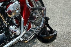 motorcycle steering lock