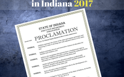 2017 Indiana Home Education Week