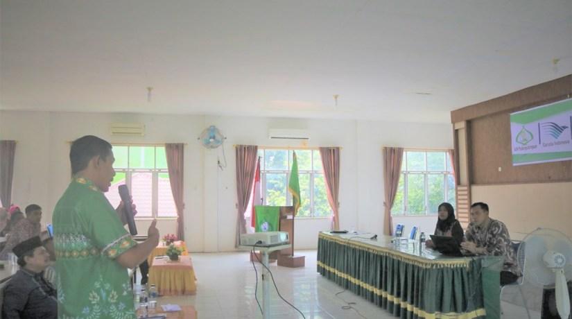IAIN Padangsidimpuan Gelar Sosialisasi Kerjasama Corporate Privillege dengan Garuda Indonesia BO Pinangsori