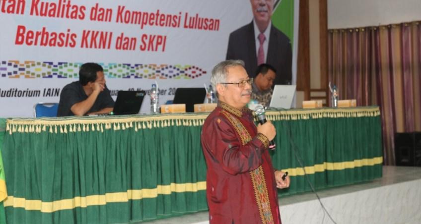 Terus Tingkatkan Kualitas dan Kompetensi Lulusan, IAIN Padangsidimpuan Hadirkan Guru Besar Ilmu Komputer Universitas Indonesia
