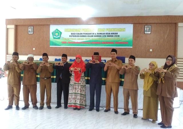 FTIK IAIN Padangsidimpuan Bekerjasama dengan Kemenag Kota Padangsidimpuan Mengadakan Seminar Sosialisasi Pernikahan