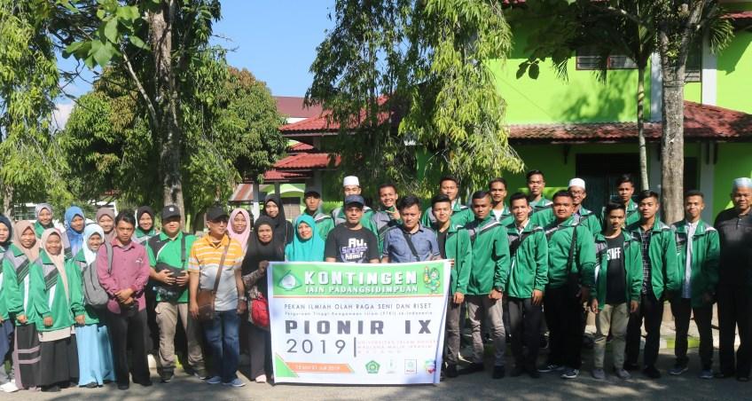 Kontingen IAIN Padangsidimpuan Optimis Membawa Medali di PIONIR IX