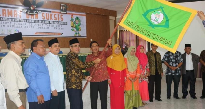 Kontingen IAIN Padangsidimpuan Siap Ikuti Berbagai Kompetisi PIONIR IX