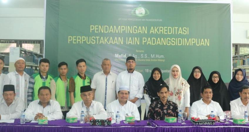 IAIN Padangsidimpuan Siapkan Perpustakaan Terakreditasi