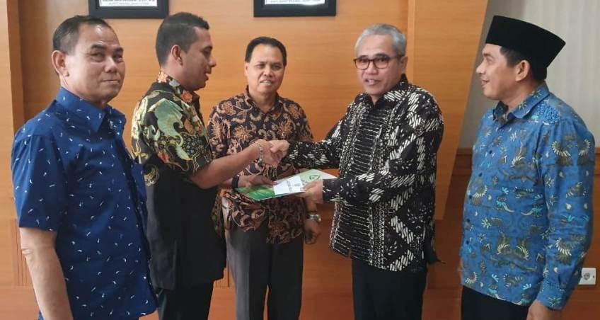 Bupati Paluta Mendukung Penuh Rencana Transformasi IAIN Padangsidimpuan Menjadi UIN
