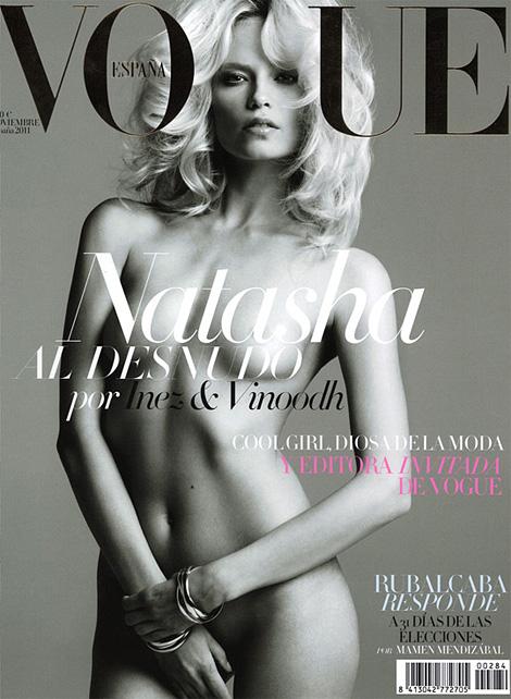 Natasha Poly x Vogue Espana