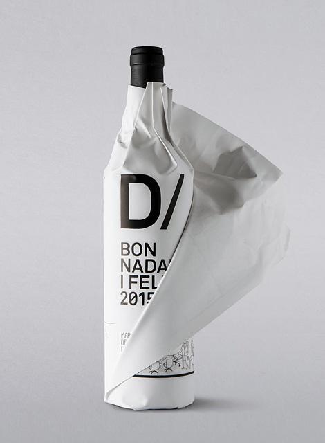 BLOCD wine bottle