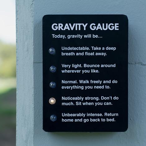 Gravity Gauge
