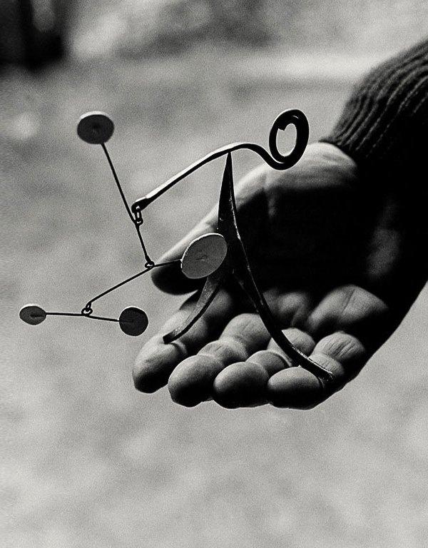 Alexander Calder miniature sculpture