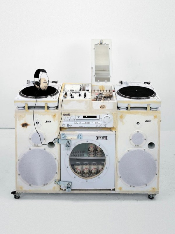 White Ghetto Blaster x Tom Sachs