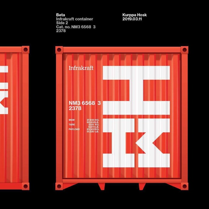 Kurppa Hosk: Infrakraft Container