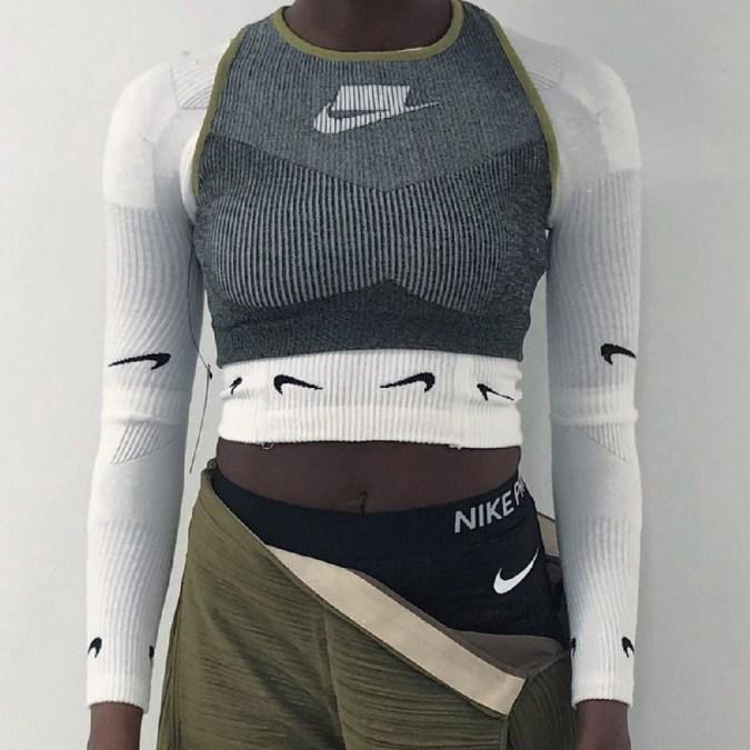 Upcycled Nike x Vanille Verloës